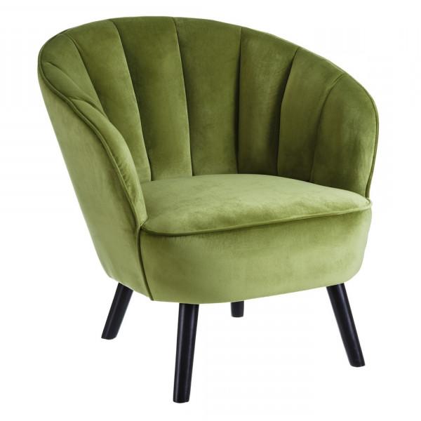 Sillon Verde U3dh Sillà N Tapizado Vintage Verde De Terciopelo A Home