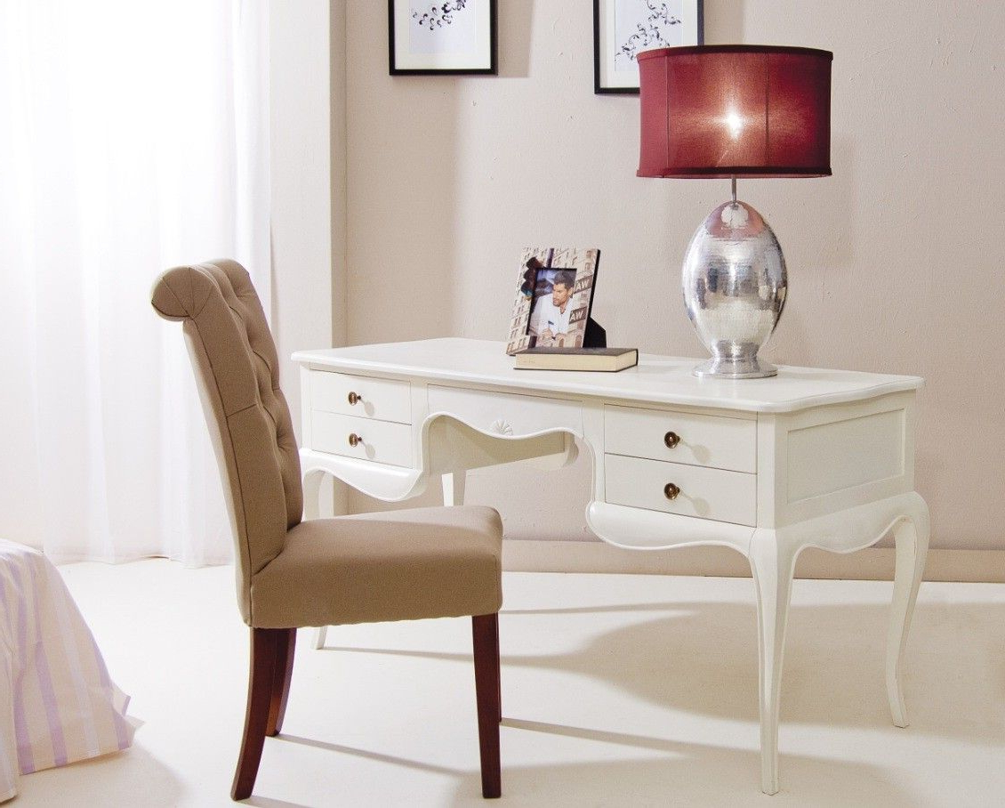 Sillones Despacho Budm Mesa De Escritorio Vintage Blanca Maisà N Home Furniture