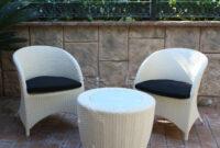 Sillones Exterior Jxdu Majestic Garden Sillones Y Mesa De Exterior Lotus White Set De Dos