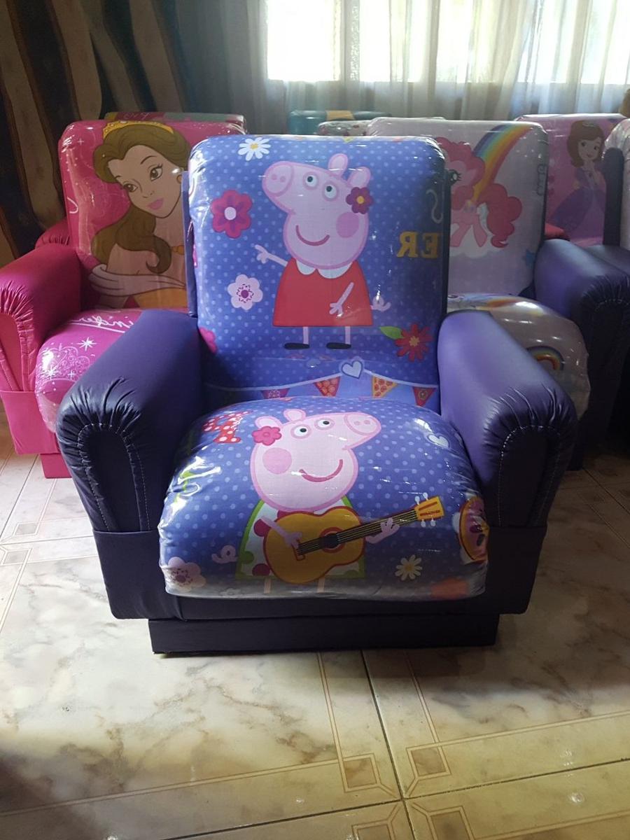 Sillones Infantiles S1du Sillones Infantiles Peppa Pig La Cerdita 799 00 En Mercado Libre
