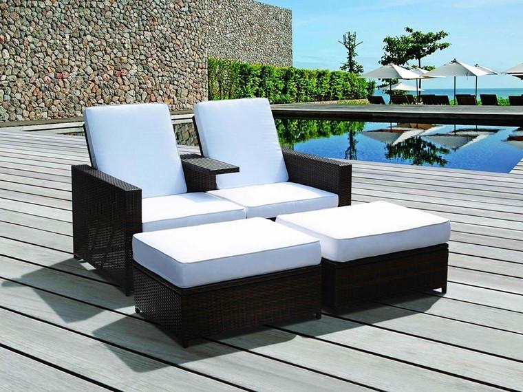Sillones Jardin 8ydm Sillones Jardin Cojines Blancos Ideas Jardà N Y Terraza
