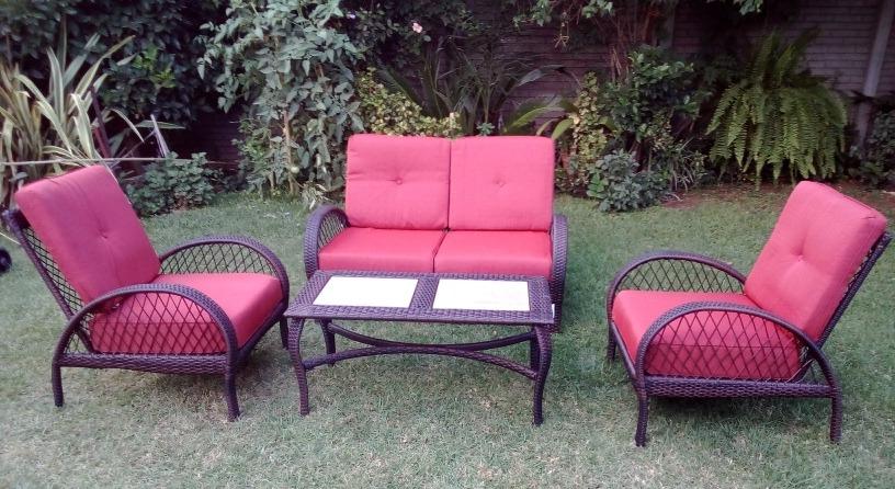 Sillones Jardin Y7du Set De Rattan Mesa sofà 2 Sillones Jardin Exterior 25 999 00