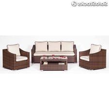 Sillones Para Terrazas E6d5 sofà 2 Plazas Exterior Aluminio Y Medula Sintà Tica Econà Mico Barato