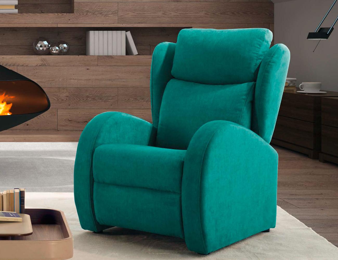 Sillones Relax Modernos Q0d4 Sillon Relax orejero Con Diseà O Algo Moderno Y Con Buen Tejido