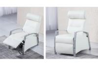 Sillones Relax Modernos X8d1 Sillà N Relax Moderno Con Reposabrazos Metà Licos Montaje Gratis