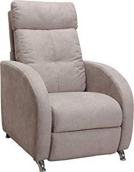 Sillones Relax Pequeños E6d5 Miss sofa Lee Sillà N Relax Reclinable 3 Posiciones Pino Beige