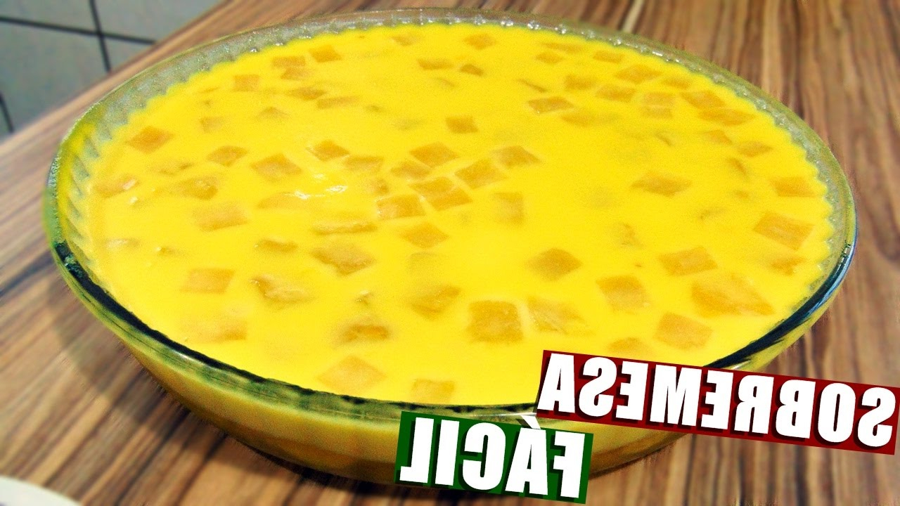 Sobremesa Barata Rldj sobremesa Gelada De Abacaxi FÃ Cil E Barata Menino Prendado Youtube