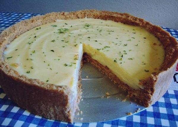 Sobremesa Barata X8d1 torta De Limà O Massa De Biscoito Receita toda Hora