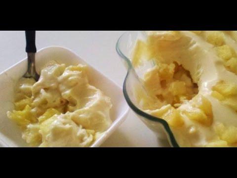 Sobremesa Barata Zwdg sobremesa Facil E Barata De Abacaxi Receita FÃ Cil Menino