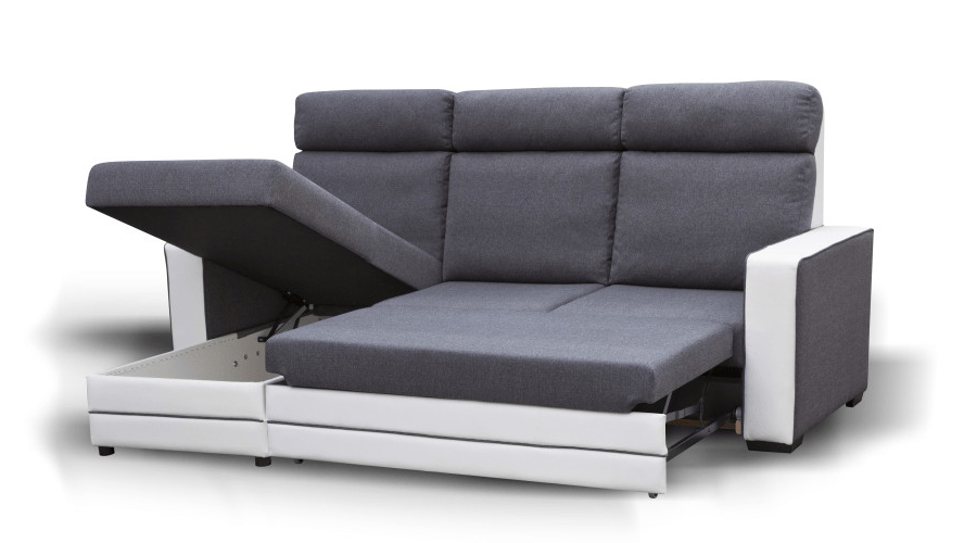 Sofá Cama Chaise Longue 9ddf Excelente sofa Cama Chaise Longue Y Arcon sof C3 A1 Miami Png Fit