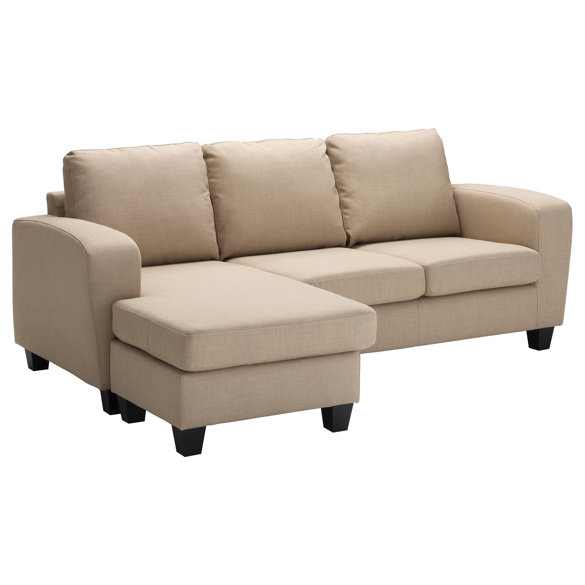 Sofá Chaise Longue Ffdn Balderum sofà 2 Plazas Con Chaiselongue Skiftebo Beige Ikea