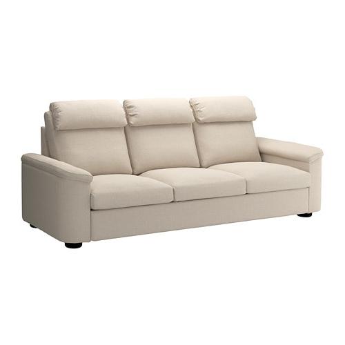 Sofa 3 Plazas J7do Lidhult sofà 3 Plazas Gassebol Beige Claro Ikea