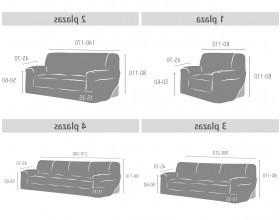 Sofa 3 Plazas Medidas 4pde Eccellente sofa 4 Plazas Medidas Fundas De sof Funda Sill N