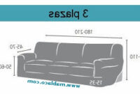 Sofa 3 Plazas Medidas Y7du Fundas De sofa Elasticas Guzco