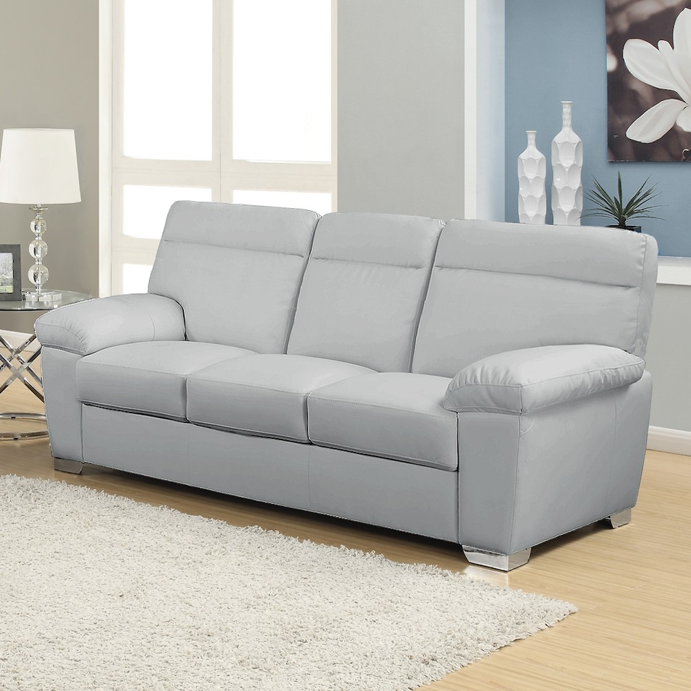 Sofa Alto Whdr Alto Italian Inspired High Back Leather Light Grey sofa Collection