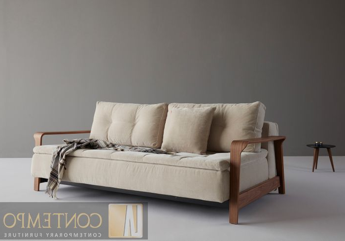 Sofa Alto Xtd6 Innovation Alto Dual with Ran Arms sofa Bed In 544 Oatmeal Chenille