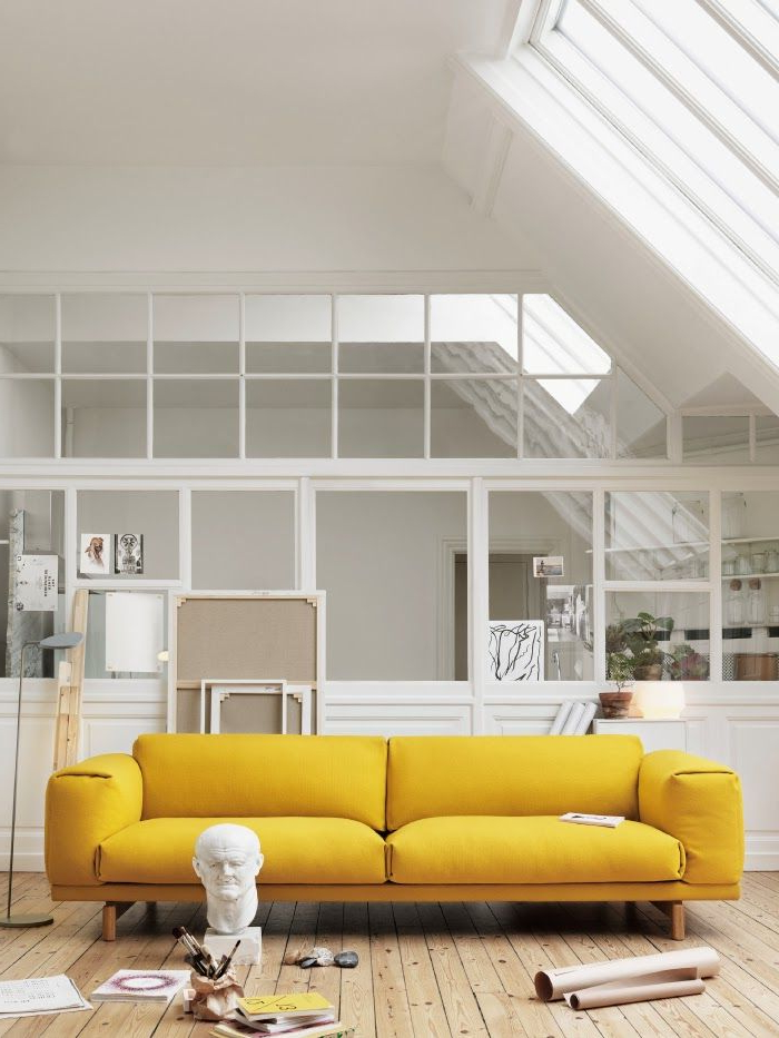 Sofa Amarillo Mndw sofà Amarillo Mobiliario Pinterest Pretty Pastel Pastels and