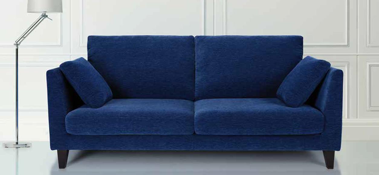 Sofa Azul Marino 9fdy sofà Azul Marino 3 Plazas