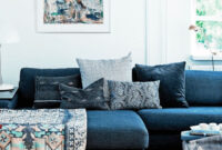 Sofa Azul Marino Dddy sof Azul Marino Cojines Para sofas Salon Pinte