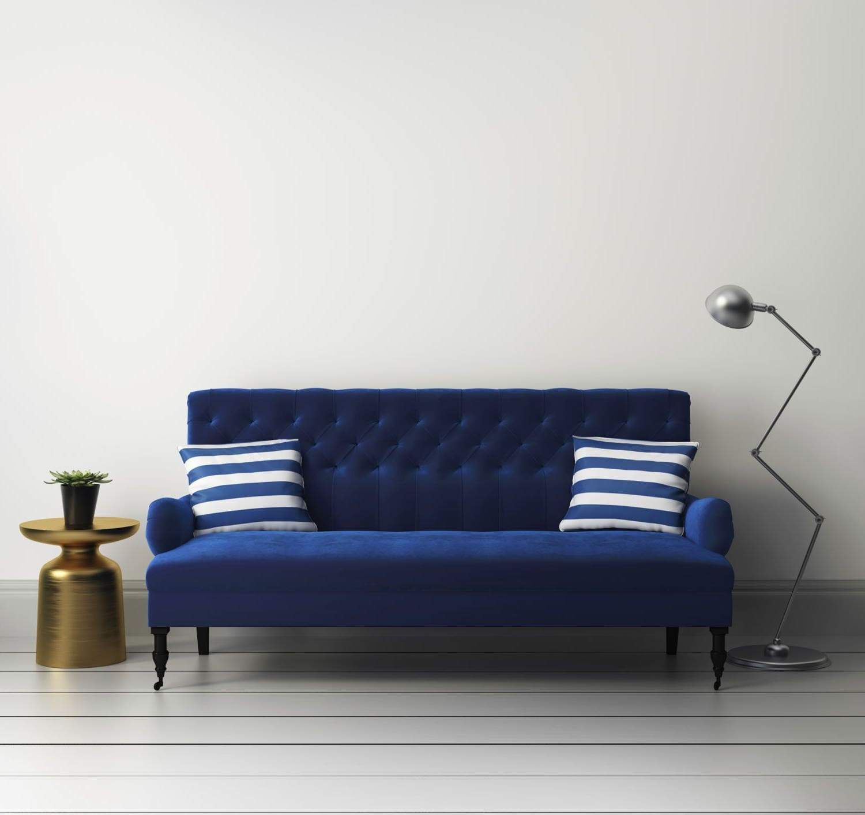 Sofa Azul Marino E9dx Meraviglioso sofa Azul Marino C Mo Binar Un sof Hogarmania