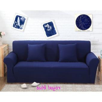 Sofa Azul Marino Gdd0 Pra Funda De sofà De Color Sà Lido De Tejido De Punto Azul