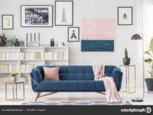 Sofa Azul Marino