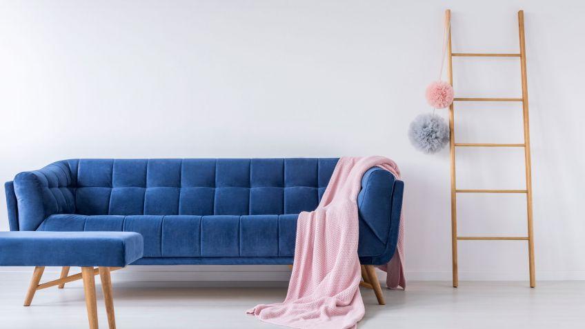 Sofa Azul Marino Thdr Cà Mo Binar Un sofà Azul Hogarmania