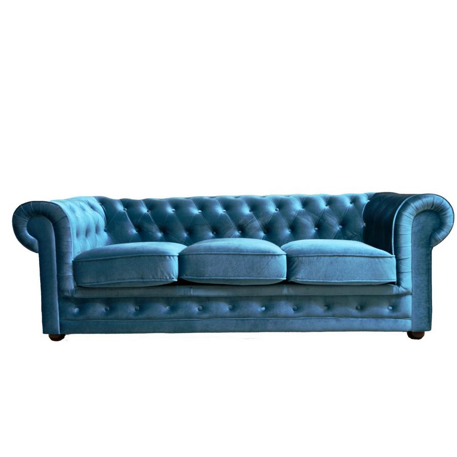 Sofa Azul Turquesa Etdg sofa Terciopelo Azul Turquesa 3 Plazas Muebles Marieta