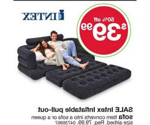 Sofa Black Friday 0gdr Intex Inflatable Pull Out sofa Deal at Kmart Black Friday is 39 99