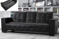 Sofa Cama 3 Plazas 3id6 sofà Cama 3 Plazas Clic Clac De Piel Sintà Tica Devonshire Bandeja Central Abatible Marfil
