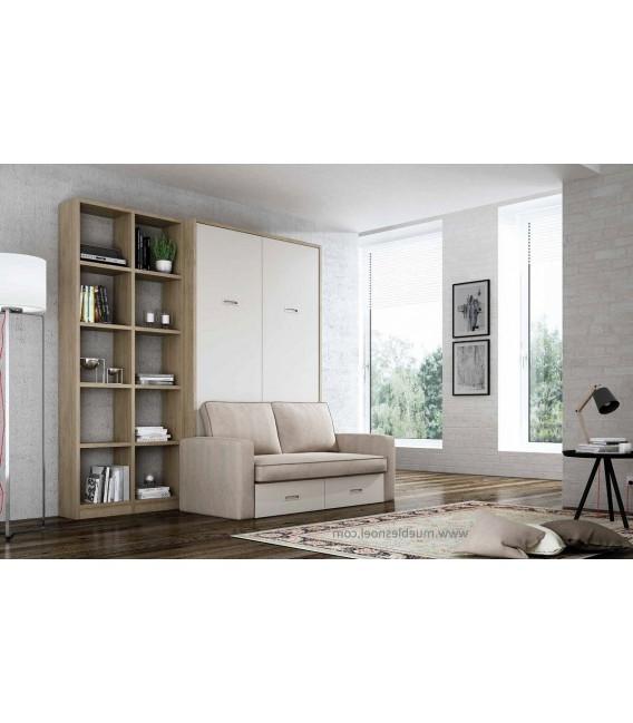 Sofa Cama Abatible Vertical 4pde Precio De Cama Abatible Vertical De Matrimonio Con sofa Delante 1645