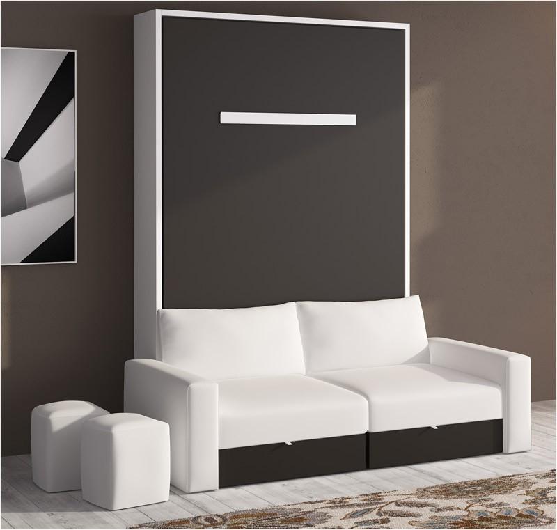 Sofa Cama Abatible Vertical Dddy Cama Abatible Vertical Con sofà Disponible En Diferentes Medidas Y
