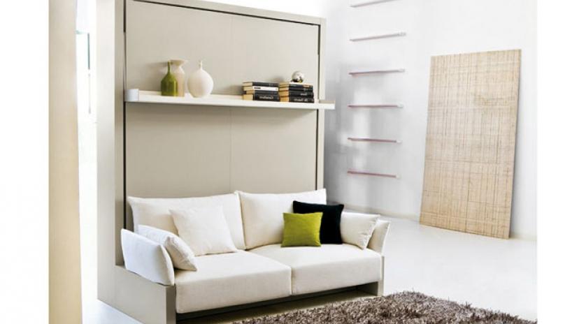 Sofa Cama Abatible Vertical Ffdn Mueble Cama Con sofà Delante sofas Cama Cruces