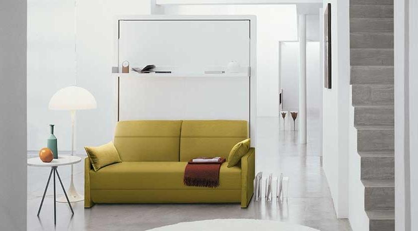 Sofa Cama Abatible Vertical Fmdf Mueble Abatible Vertical De Matrimonio Con sofà Y Chaise Longue