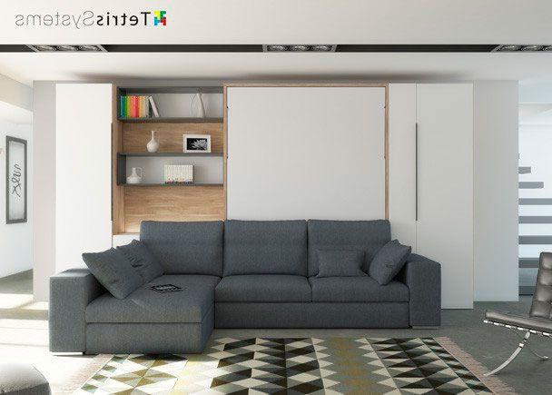 Sofa Cama Abatible Vertical Ftd8 Salà N Con Cama Abatible Vertical Y Chaiselongue Wood En 2018