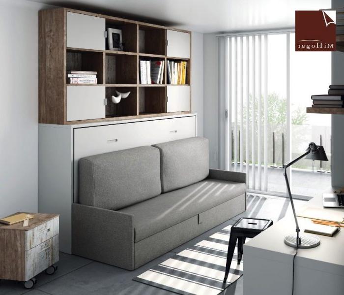 Sofa Cama Abatible Vertical S5d8 Cama Abatible Horizontal Con sofa Tmb Muebles Mi Hogar