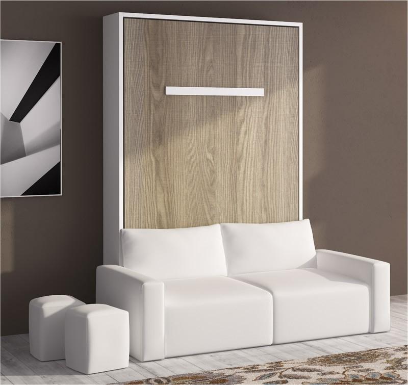 Sofa Cama Abatible Vertical T8dj Cama Abatible Vertical Con sofà Disponible En Diferentes Medidas Y