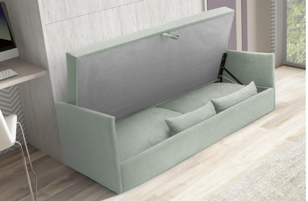 Sofa Cama Abatible Vertical Txdf Cama Abatible Vertical De Matrimonio Con sofà Vert