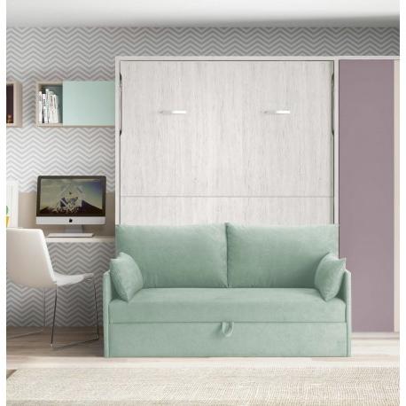 Sofa Cama Abatible Vertical Y7du Cama Abatible Vertical De 135 O 150 Cm Con sofà Eight