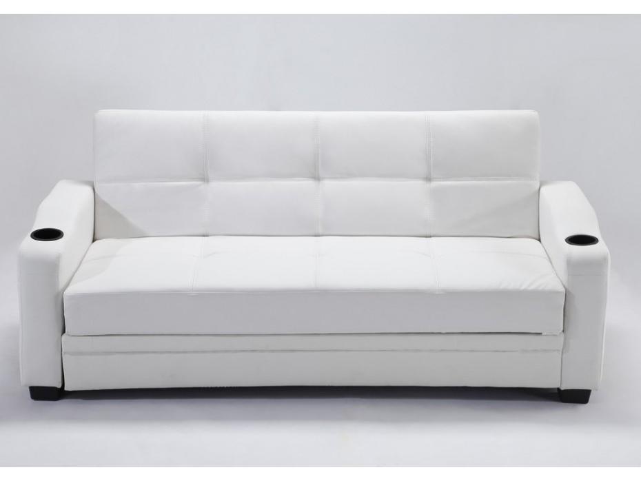 Sofa Cama Blanco 9fdy sofà Cama Clic Clac De Piel Sintà Tica Mirella Blanco