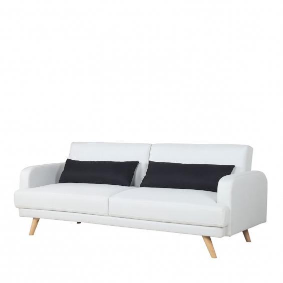 Sofa Cama Blanco Drdp Geraldine sofà Cama Blanco 216 X 88 X 87 Cm 532 05 Livedecore