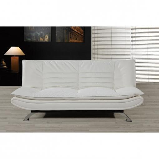 Sofa Cama Blanco Dwdk sofa Cama Polipiel Moderno Clic Clac Blanco