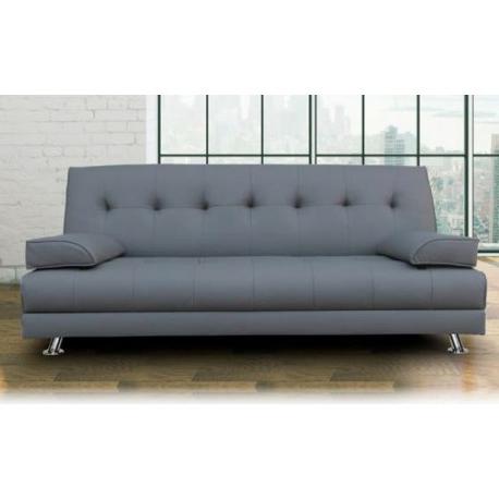 Sofa Cama Blanco E6d5 sofa Cama solver Tapizado En Polipiel Color Chocolate O Blanco