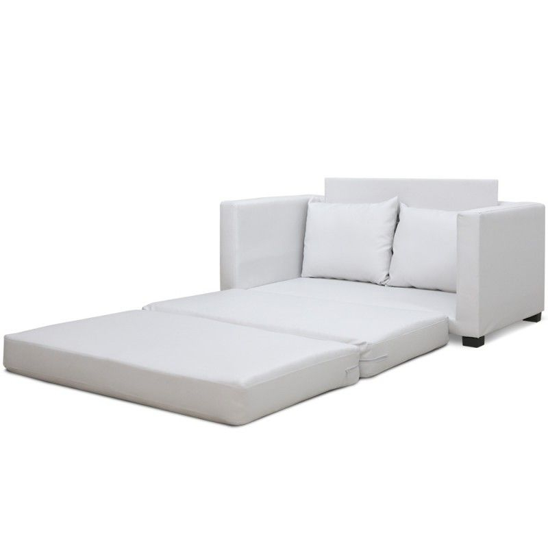 Sofa Cama Blanco Ipdd sofà Cama ascott Pu Blanco Colors Casa sofa Bed Furniture