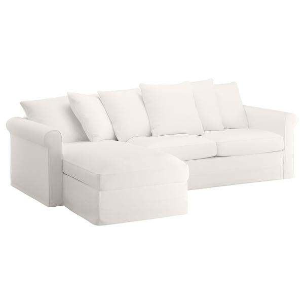 Sofa Cama Blanco Mndw 3 Seat sofa Bed Grà Nlid with Chaise Longue Inseros White