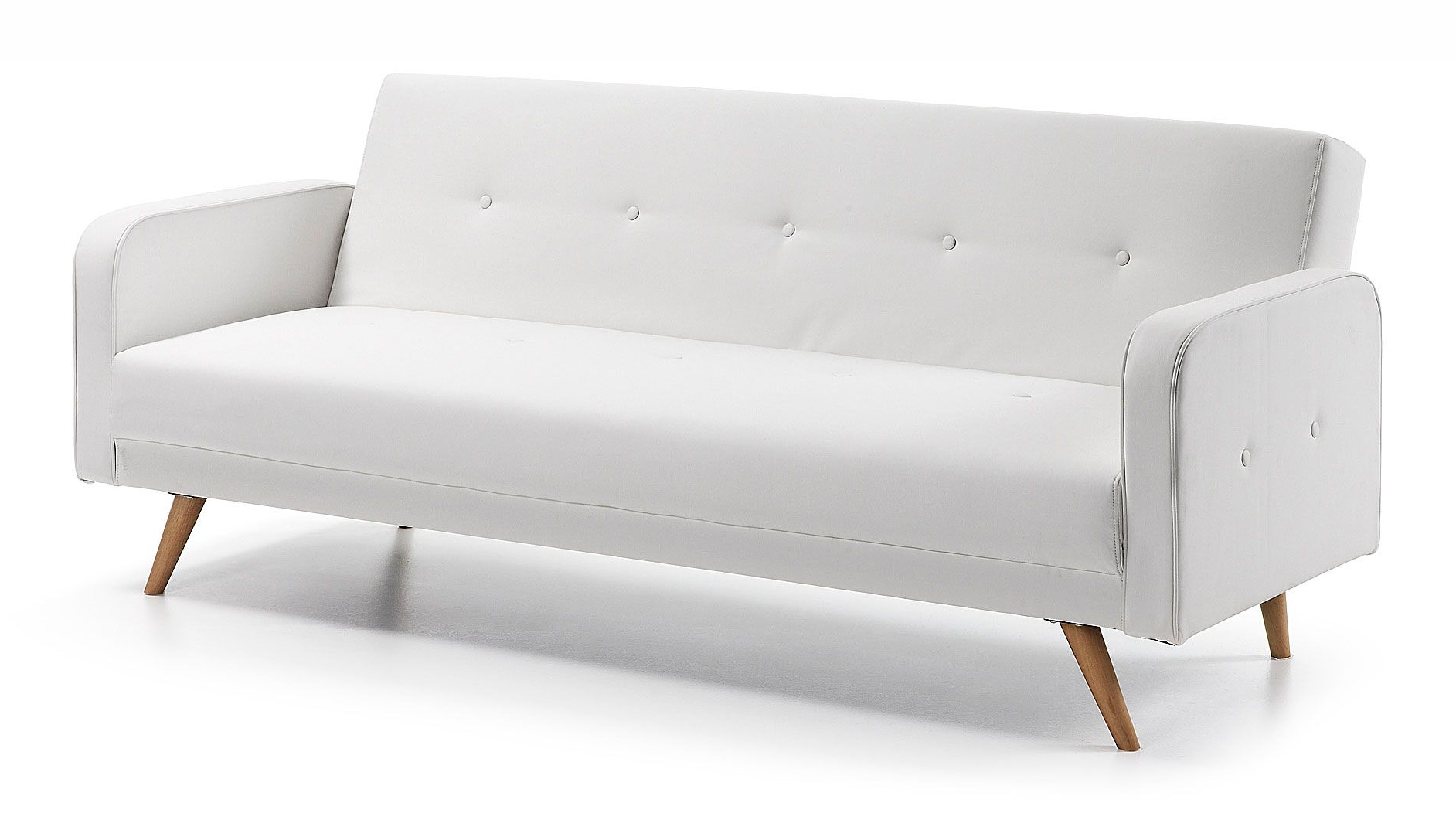 Sofa Cama Blanco Q0d4 sofà Cama Retro Blanco Roger Decoracià N Pinterest Ph
