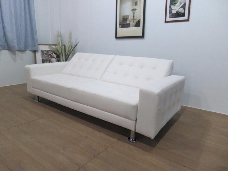 Sofa Cama Blanco Xtd6 Seco De Alta Calidad Pu Cuero Blanco sofà Cama Para Sala De Estar sofà Cama sofà Cama sofà Product On Alibaba