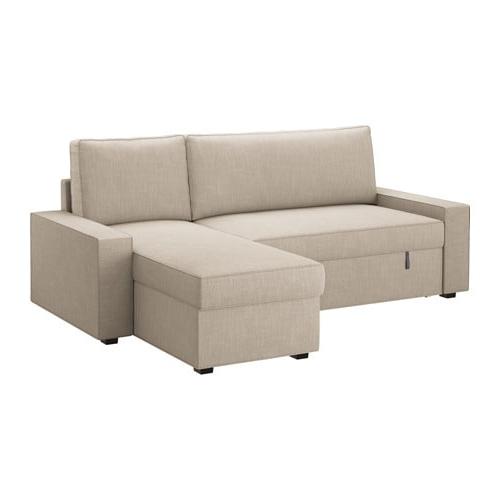 Sofa Cama Chaise Longue Ikea 0gdr Vilasund sofà Cama Con Chaiselongue Hillared Beige Ikea