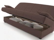 Sofa Cama Clic Clac Budm Hogar24 sofa Cama Clic Clac Con Arcà N De Almacenaje Chocolate