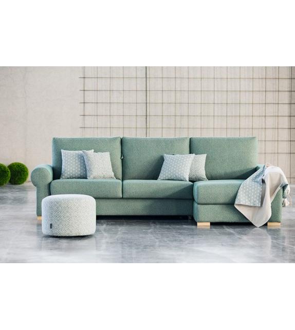 Sofa Cama Comodo Mndw sofà Cama De Apertura Italiana Con Chaise Longue Rita Muy Cà Modo
